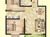 北洋景苑_2室2厅1卫 建面85平米