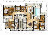 海航万绿园1号_8室3厅4卫 建面364平米