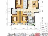 现代美居_3室2厅2卫 建面106平米