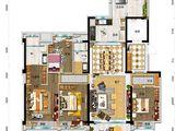碧桂园太阳城_4室2厅2卫 建面166平米
