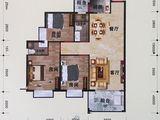 利嘉皇庭_3室2厅2卫 建面98平米