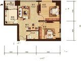 尚运上品_2室2厅1卫 建面91平米