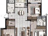 凤林府_3室2厅2卫 建面107平米