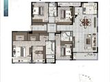 凤林府_4室2厅3卫 建面205平米
