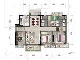 招商雍景湾_4室2厅2卫 建面115平米
