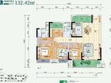 澳海文澜府_4室2厅2卫 建面132平米