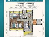 曲江丽景嘉园_3室2厅2卫 建面133平米