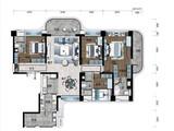 海南碧桂园中央半岛_4室2厅3卫 建面199平米