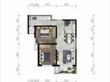 世贸香颂_2室1厅1卫 建面85平米